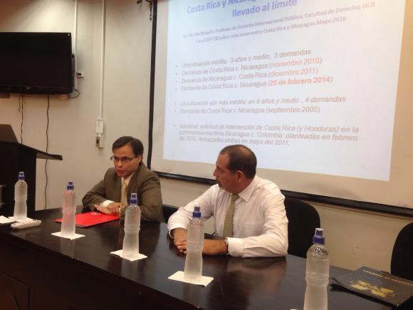 Presentadores: M.Sc. Carlos Humberto Cascante y M.Sc. Fernando Zeledón