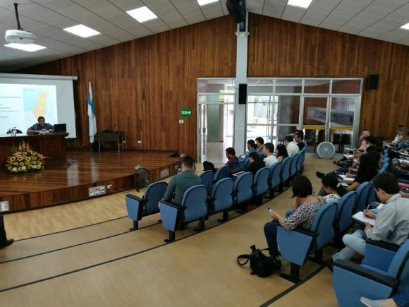 """Conferencia """"Situación y Proyección del conflicto Palestina-Israel"""", en el marco de la Cátedra de Derecho de la Sede de Occidente de la Universidad de Costa Rica."""